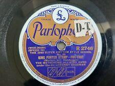 78rpm: Benny Goodman - Metronome All Star Band 1940 – King Porter Stomp Ex+