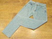 "Levi's 501, W32"", L28""  Straight Leg, Blue Denim Jeans, Rise 12"", Hem 17"" vgc"