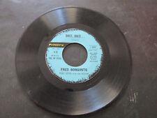 45 giri - 7' - Fred Bongusto - Doce Doce / Frida - Primory 1963