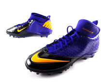 Nike Lunarlon Superbad Pro Td Football Cleats Purple 534994-518 Usa Men's Sz 15