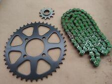 Kawasaki Mojave 250 X-Ring Chain and 12//43 Sprocket Set 1987-2004