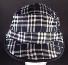 Indiana University Black and White Plaid Russel Hat Cap