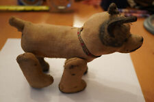 VINTAGE TOY DOG WITH ROLLER WHEELS