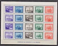 1938 En honor del Ejercito y la Marina Edifil 849** MNH VC 65,00€