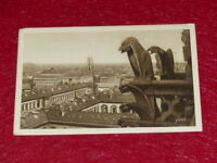 Yvon - Paris Strolling Gargoyles Notre Dame 1919 Helio 2e Series - 34 CPA