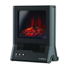 Electric Fireplace Space Heater Portable Small Ceramic Home Room Office Indoor