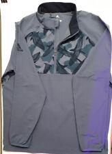 Adidas Golf Rain Jacket Pullover 1/2 Zip Navy Blue Men's Size L NEW! MSRP $100!
