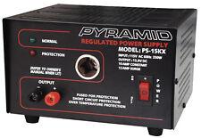 NEW POWER SUPPLY PYRAMID 12 AMP W/CIGAR PLUG PS15KX