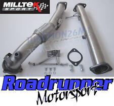 "Milltek SSXFD086 Focus RS MK2 Downpipe & De Cat Pipe 3"" Stainless Steel Exhaust"