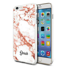 Personalised Marble Phone Case Cover For Apple Samsung Initial Name - Ref B01