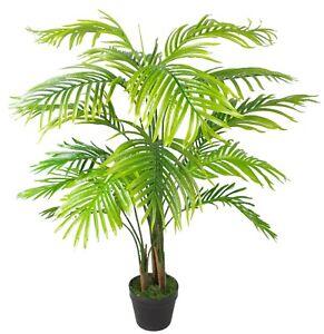 Realistic Artificial Fake Palm Tree Plant Indoor Outdoor Garden Foliage Decor Uk