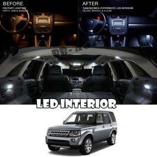 For 09-16 Land Rover LR4 Discovery Interior LED Xenon Light Bulb 5050 Kit 18pc
