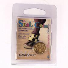 Manuscript Decorative Wax Sealing 18mm Coin Seal - Initial Y