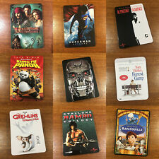 *NO MOVIE DISC* DVD (G1) Steelbook Case Only - Choose Your Own Title