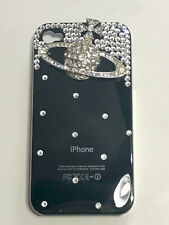 IPhone 4/4S Black Case with Crystal