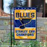 St. Louis Blues 2019 Stanley Cup Champions Garden Flag and Yard Banner