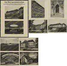 Dt. Reichspost Bauwesen Postbauschule Architektur Moderne Neue Sachlichkeit 1927