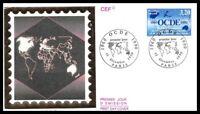 France (OCDE ) 1990 FDC