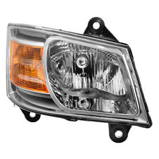 Dodge 08-10 Grand Caravan Chrome Replacement Headlight Passenger / Right Side