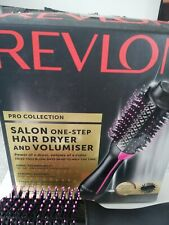 REVLON PRO COLLECTION SALON ONE STEP HAIR DRYER and VOLUMISER..GOOD COND.