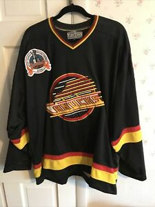 KIRK McLEAN VANCOUVER CANUCKS CCM NHL CCM  94 CUP JERSEY AUTHENTIC COLLECTION 56