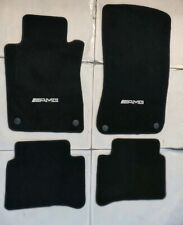 Fit 03-08 Benz W211 E-Class 4Dr Black  Floor Mats W/Emblem