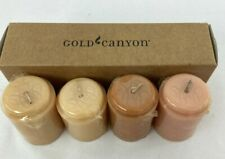 Gold Canyon 4-2 oz Baking Line Votive Candles New Old Stock