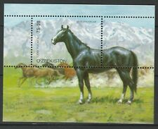 Kyrgyzstan 1999 Horses MNH Block