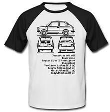 Fiat 133 inspirado-nueva Camiseta Algodón-todos Los Tamaños En Stock