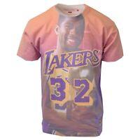Mitchell & Ness Men's Magic Johnson #32 City Pride S/S T-Shirt