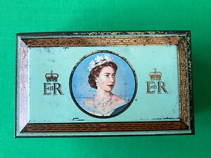 Queen Elizabeth II Coronation  Cigarette Tin 1953 by W.D. & H.O.Wills