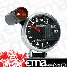 5 Inch Auto Meter Sport-comp II Tacho Shift-lite Pedestal Mount 10000 RPM 3699