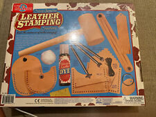 Ts Shure Leather Stamping Lacing Creations Kit 5 Projects Craft Kid