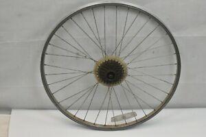 "Rear 26"" MTB Bike Wheel Freewheel 18mm OLW135 6 Speed Touring QR AV USA Charity!"