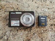 Nikon CoolPix S210 8.0MP Digital Camera - Black
