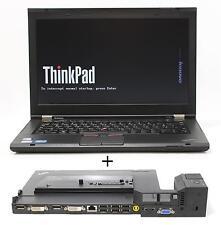 "Lenovo T430S 14,1"" HD+ 8 GB Ram i5-3320M QWERTZ backlit mit Dockingstation 4338"