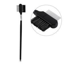 Professional Eyebrow Dual-Comb Stainless Steel Metal Brush Eyelash Extension