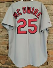Mark Mcgwire St.Louis Cardinals Russell Authentic Diamond Jersey size 52 A's Mlb