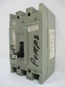 FPE Federal Pacific HEF631040 40 Amp 600V 3-Pole Type HEF AB Circuit Breaker 40A