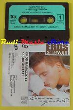 MC EROS RAMAZZOTTI Cuori agitati 1985 italy DDD 40 DDD 26353 no cd lp dvd vhs *