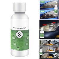 HGKJ-8 Car Lens Restoration Kit Headlight Brightening Repairing Renovation Tool