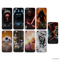Star Wars Soft Silicone Gel Case/Cover iPhone 4/4s5/5s/SE/5c/6/6s/7/8/Plus/10/X