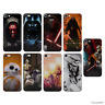 Star Wars 5/5s/SE/5C/6/6s/7/8/Plus/X Case/Cover for iPhone Screen Protector Gel