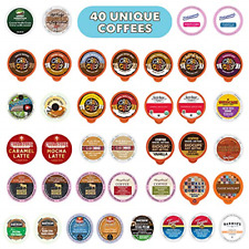 Flavored Coffee Variety Sampler Pack, Kcups and Single Serve Pods, Assorted with