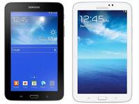 Samsung Galaxy Tab 3 SM-T217S -16 GB- Wi-Fi + 4G (Sprint), 7in - Black-White