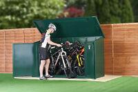 Bike / Cycle Shed for 29ers / 4 Bike Storage/ Asgard Secure Bike Sheds