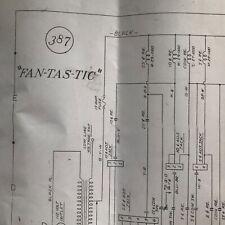 Williams Fan-Tas-Tic Pinball Machine Schematic