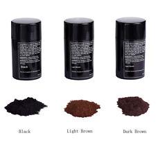 Black Light Brown Hair Fibers Building Fiber Powder Thickening Bald Patch Women