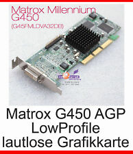 GRAPHICCARD MATROX MGA AGP DVI G450 -32 LP LOW PROFILE SFF G45FMLDVA32DBF G21