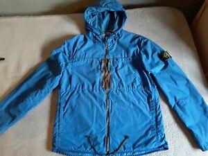Mens Stone Island Jacket Blue Size Medium